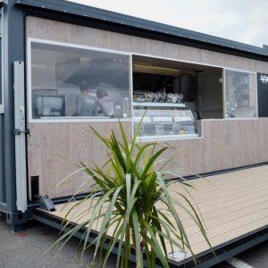 Container événementiel stand aménagé confiserie cook Inn 2