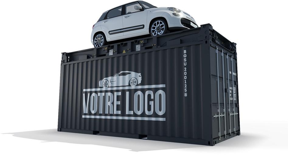 container evenementiel podium